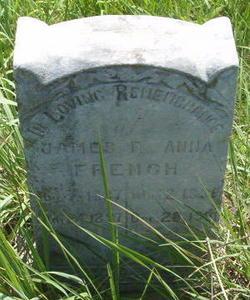 Annie F <I>Allison</I> French