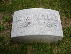 Sarah <I>Sommerfield</I> Truman