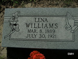 Cora Lena <I>Jackson</I> Williams