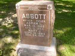 Mary Jane <I>Rogers</I> Abbott