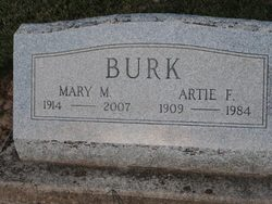 Mary M <I>Oswalt</I> Burk