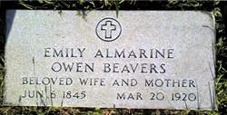 Emily Almarine <I>Owen</I> Beavers