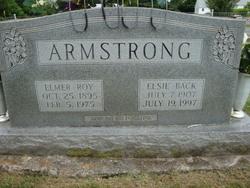 Elsie <I>Back</I> Armstrong