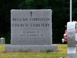 Beulah Christian Church Cemetery