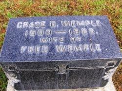 Grace <I>Durfee</I> Wemple