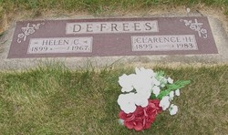 Clarence H DeFrees, Sr