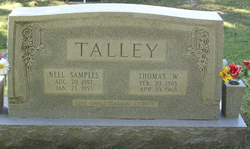 Nell <I>Samples</I> Talley