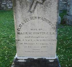 Eliza Selden <I>Washington</I> Hunter