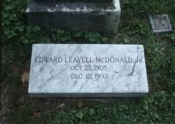 Edward Leavell McDonald, Jr