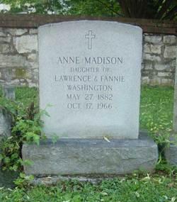 Anne Madison Washington