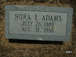 Nora Evelyn Adams