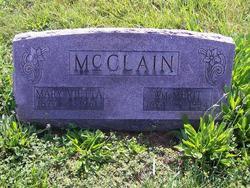 Mary Vietta <I>Crabill</I> McClain