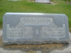 Phoebe Ellen <I>Barlow</I> Sumsion