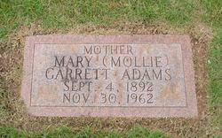 Mary (Mollie) <I>Garrett</I> Adams