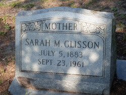 Sarah M <I>Brown</I> Glisson