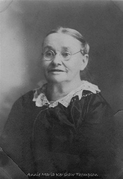 Annie Maria <I>Kershaw</I> Thompson