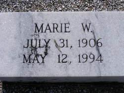 Marie <I>Wilson</I> Bagwell