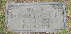 Ruby <I>Copeland</I> Hicks