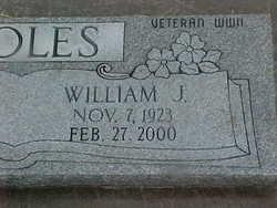 William James Coles