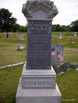 Olive C. <I>Bogues</I> Bickmore