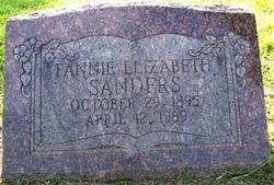 Fannie Elizabeth Sanders