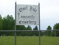 Trout Lake Community Cemetery