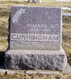 Amanda Maria <I>Dorsey</I> Cunningham