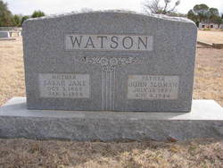 "Sarah Jane ""Sallie"" <I>Copeland</I> Watson"