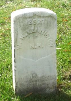 Pvt William H. Kenniston