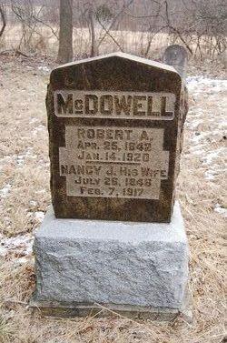 Nancy Jane <I>Hughs</I> McDowell