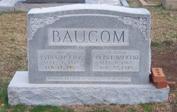 Lydia <I>McCoy</I> Baucom
