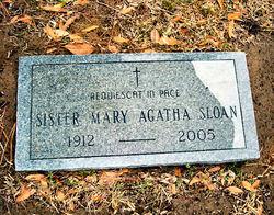Sr Mary Agatha Sloan