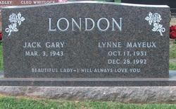 Lynne <I>Mayeux</I> London