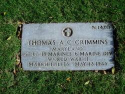 1LT Thomas Arthur Chance Crimmins