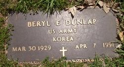 Beryl E Dunlap