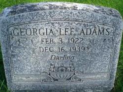 Georgia Lee Adams