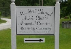 McNeil Chapel Cemetery