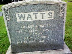 Mary L. <I>Disney</I> Watts
