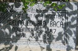 Adelino Edward Baca