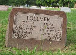 Anna <I>Mettler</I> Follmer