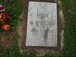 Walter Albert Bosley, Sr