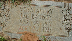Vera Audry Lee Barber