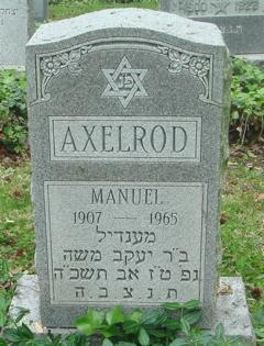 Manuel Axelrod