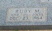 Ruby M. Adams