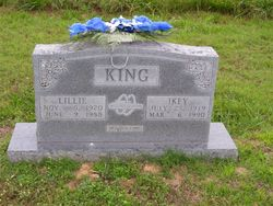 "Janie Lillian Gay ""Lillie"" <I>Best</I> King"