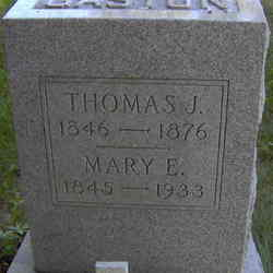 Mary E <I>Blackburn</I> Gaston