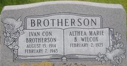 CPL Ivan C Brotherson