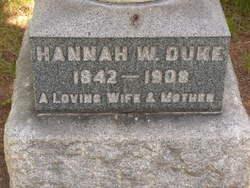Hannah <I>Walker</I> Duke