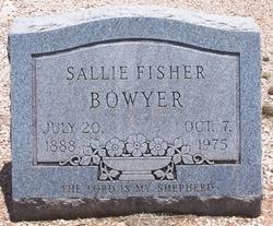 SALLIE ELIZABETH <I>FISHER</I> BOWYER