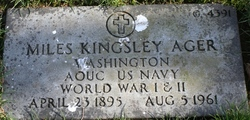 CPO Miles Kingsley Ager